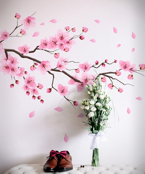 Flowers and Plants Wall Stickers Collection